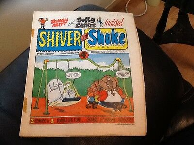 SHIVER AND SHAKE  Paper comic 1973 ISSUE NUMBER 31 Still in great conditions