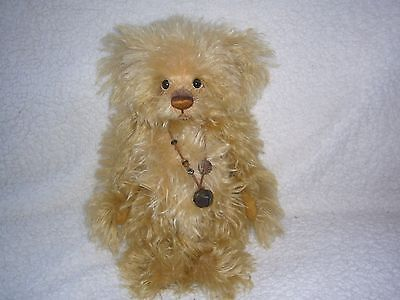 "Charlie bear Cheescake 14.5""Mohair Ltd Edition Isaabelle Collection"
