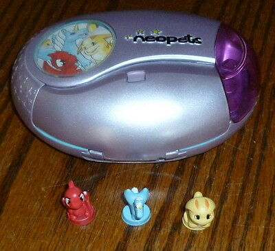 Neopets Portable Electronic Game, With Three Figures