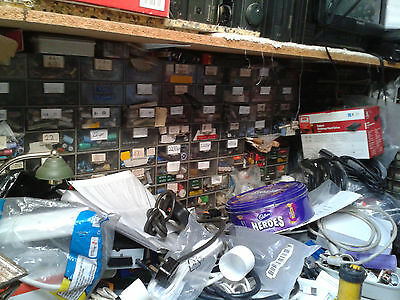 Assortment lucky dip of Electronic components