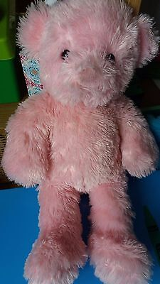 Chad Valley Design A Bear Pink Teddy