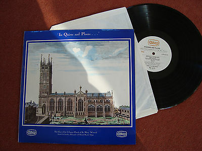 In Quires and Places - Choir Collegiate Church St Mary Warwick on vinyl