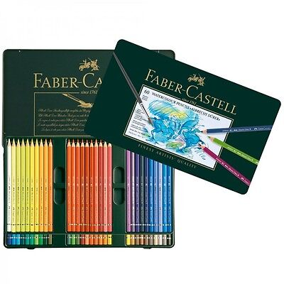 FABER-CASTELL Albrecht Dürer Watercolour Pencils | Tin Set of 60 | BNIB RRP £115