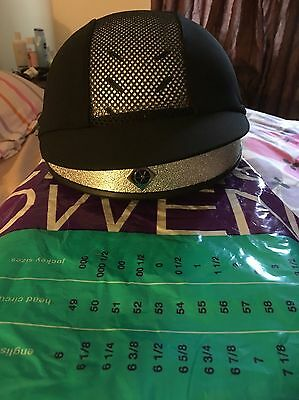 Riding Hat Charles Owen Pro II Jockey  Skull Cap