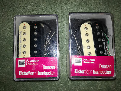 Seymour Duncan Distortion pickups SH-6 Neck & Bridge in Zebra