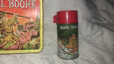 Nice Vintage 1955 Daniel Boone Metal Lunchbox & Thermos VERY RARE