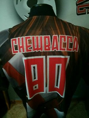 Star Wars Chewbacca game issued baseball jersey IBL