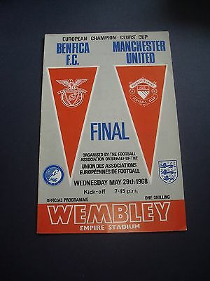 1967-68 Benfica v Manchester United (European Cup Final)