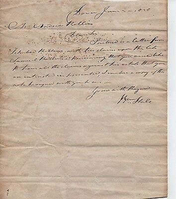 1828 William Hale  Dover Nh Hosted James Madison & Lafayette