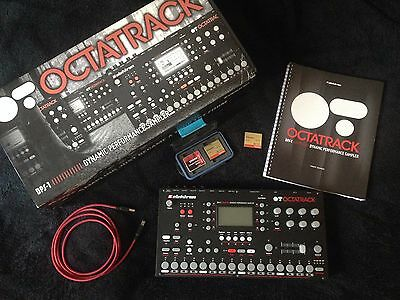 Elektron Octatrack + 2x Sandisk Extreme 64GB (UDMA 7, 120mb/s) + Kingston 16GB