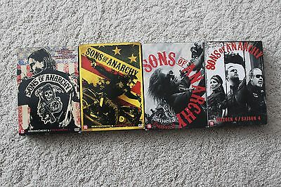 SONS OF ANARCHY Saison 1 2 3 4 DVD