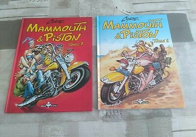 lot bd mammouth et piston tome 1&2, coyote