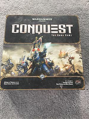 Warhammer 40,000 Conquest The Card Game New But Opened Never Played