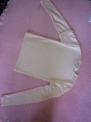 Misguided Girls Peach Overlay Jumper Used S6