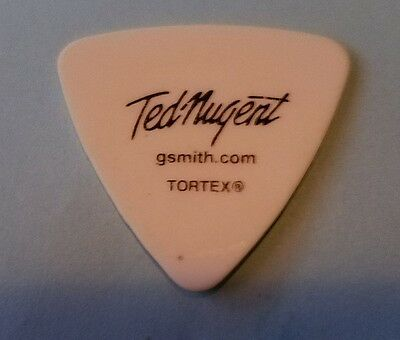 Ted Nugent Tour Guitar Pick : Greg Smith bass concert stage