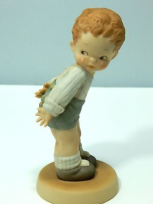 Memories Of Yesterday 1989 Wheres My Muvver Porcelain Figurine 520101 Boy Crying