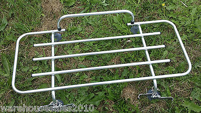Lightweight Boot Rack Carrier & Clamps Very Nice Condition, Classic MG MX5 Etc