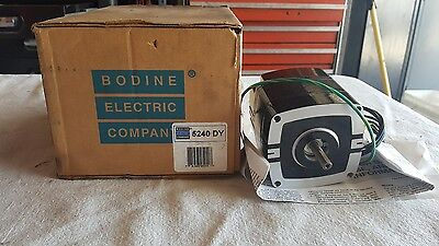 Bodine Electric  1/30 HP 1700 RPM 0.45A 115 V Induction Motor Model 5240 DY