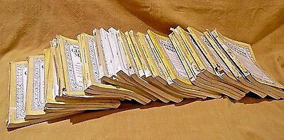 National Geographic Mags- 24 In Mixed Lot - '25-'38- Heavily Used-Various Cond-