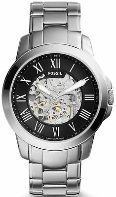 Men's Fossil Grant Automatic Stainless Steel Watch ME3103