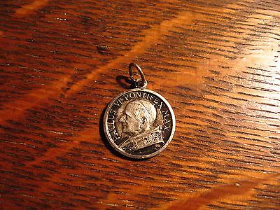Pope Paul VI Medal - Vintage 1960's Catholic Vatican Papal Religious Old Charm