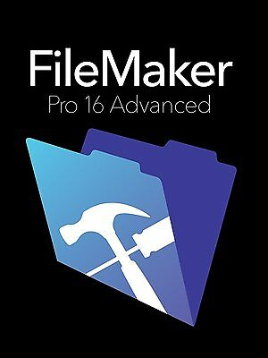 Filemaker Pro 16 Advanced - Full Retail DVD Windows (Multilingual) - HL2F2ZM/A