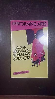 What The Butler Saw at Los Angeles Theatre Center 1987-88 programme