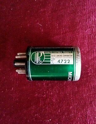 ALTEC PEERLESS 4722 Microphone Transformer Vintage for tube preamp 1567A