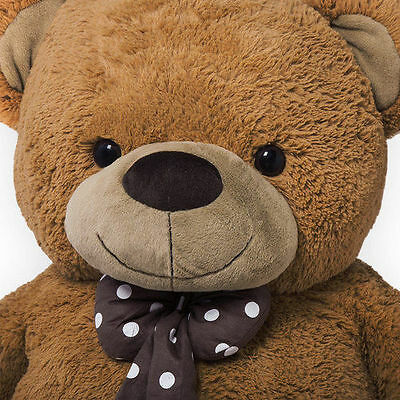 Big Brown Teddy Bear Christmas Gift Giant Extra Large Huge Plush Cuddly Polar