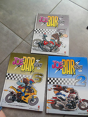 Lot de 3 BD JOE BAR team tome 2 5 6 !!!