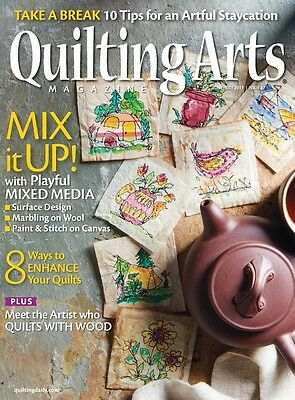 Quilting Arts Magazine June/July 2017