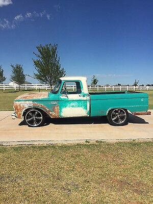 1966 Ford F-100  1966 Ford F-100 barn find restomod 460 All work by Daddy Dave Street outlaws
