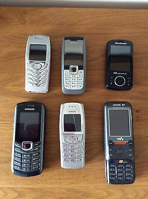 Job Lot Faulty Mobile Phones
