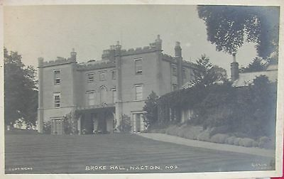 Broke Hall Nacton Near Ipswich Suffolk Early Rp Pc