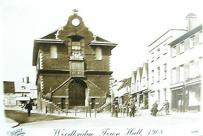 The Town Hall Woodbridge Suffolk Early Friths Collection Pc