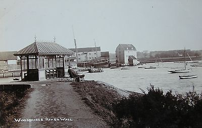The Woodbridge River Wall & Tide Mill Suffolk Early Rp Pc