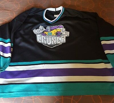 AHL Syracuse Crunch ice hockey shirt jersey eishockey trikot top Tampa Bay