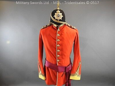 Hampshire Officer's Dress Uniform and Blue cloth Helmet
