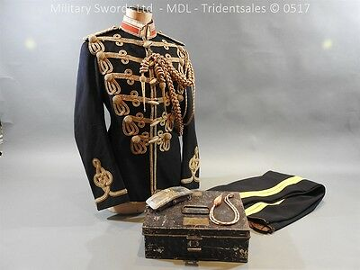 3rd Hussars WW1 Full Dress Uniform - Captain R A Bagnell