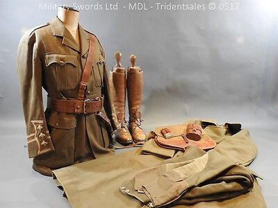 3rd Hussars WW1 Uniform and Kit - Captain R A Bagnell