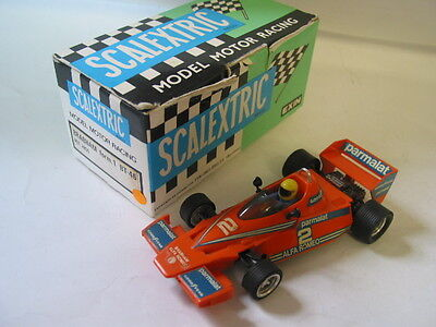 Scalextric VINTAGE 4056 BRABHAM BT46 RX MOTOR VERSION BOXED + INSTRUCTIONS