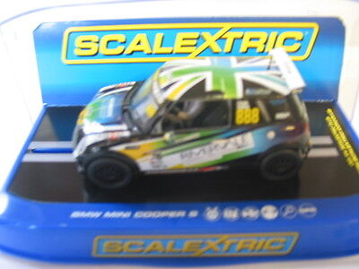 Scalextric C3606 Bmw Mini Cooper S Mini Challenge 2014 No 888 New Boxed Dpr