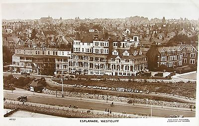 Elevated View Of The Esplanade Westcliff Essex Early Rp Pc