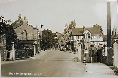 The Railway Crossing Gates At Datchet Station Buckinghamshire Early Rp Pc