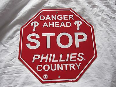 PHILADELPHIA PHILLIES Official MLB baseball fan sign