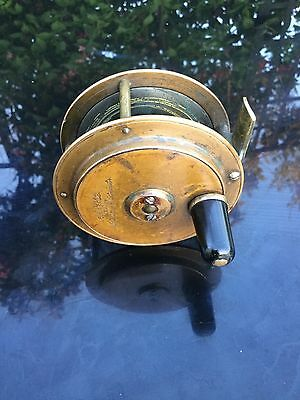 Army And Navy 3 Inch Brass Fly Reel