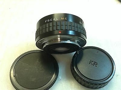 Focal MC  2X Converter for Pentax KR