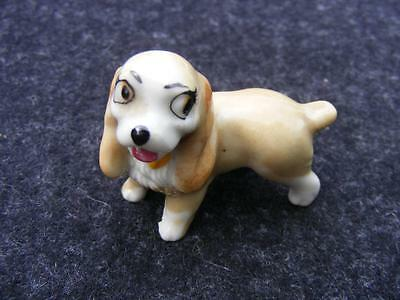 Wade Lady and the Tramp Lady dog figurine Disney Hatbox series 1956 - 1965