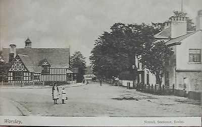 TRANQUIL WORSLEY SALFORD MANCHESTER LANCASHIRE c1905 PC