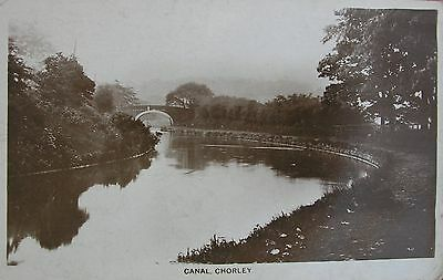 The Canal At Chorley Manchester Lancashire Early Rp Pc